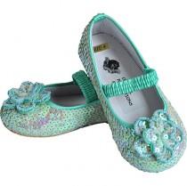 Mint Blue Flat Shoes